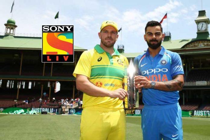 India tour of Australia,India Australia Series,India Australia Live streaming,Sony Pictures Network India,SonyLiv