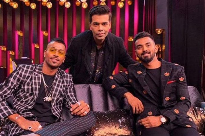 Karan Johar,Koffee With Karan,Hardik Pandya,K L Rahul,Hardik Pandya Koffee With Karan