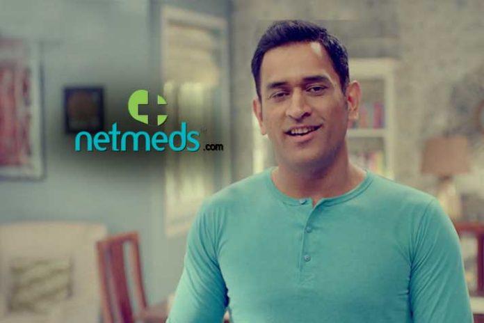 Netmeds brand ambassador,MS Dhoni,Netmeds MS Dhoni,Netmeds TVC,Netmeds campaign