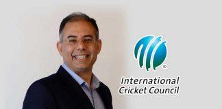 International Cricket Council,ICC CEO,Manu Sawhney ICC,ICC Chief Executive Officer,ICC Chairman