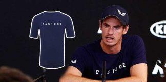 Andy Murray,Australian Open 2019,Australian Open Kit Partner,Australian Open,Castore clothing