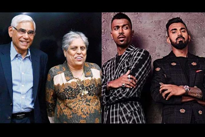 Hardik Pandya,Hardik Pandya Koffee with Karan,KL Rahul Koffee with Karan,BCCI CEO,Rahul Johri BCCI