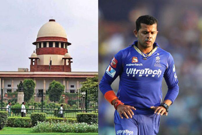 Supreme Court,S Sreesanth IPL,Sreesanth IPL Fixing,Sreesanth match fixing,BCCI match fixing ban