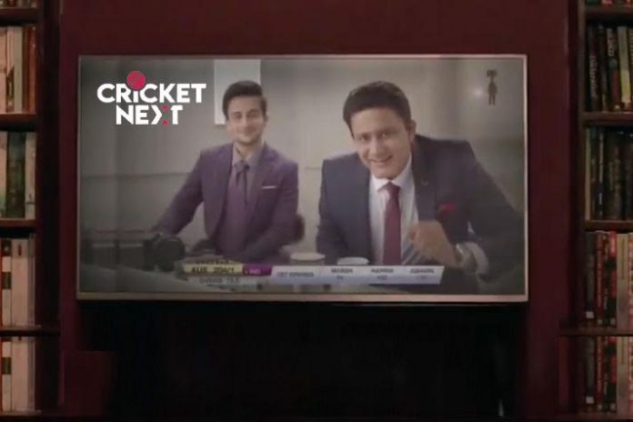 Taproot Dentsu,Anil Kumble,cricketnext campaign,cricketnext Anil Kumble campaign,cricketnext.com