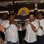 Ramakant Achrekar,Achrekar funeral,Sachin Tendulkar,Achrekar Tendulkar,Sachin Tendulkar Coach