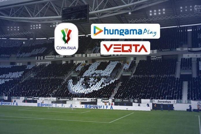 Indian football,Hungama Live streaming,Coppa Italia,Cristiano Ronaldo,Veqta Sports
