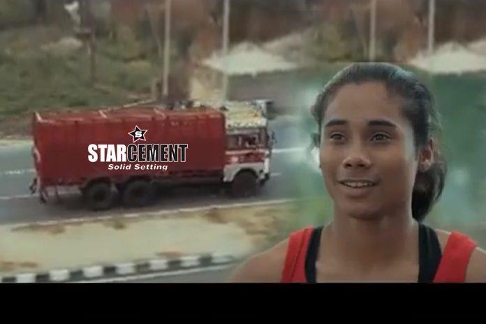 Hima Das Star Cement,Star Cement TVC,Hima Das TVC,Hima Das,Star Cement