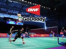 Badminton World Federation,GoDaddy,GoDaddy Sponsorships,BFW Sponsors,BWF World Championships 2018