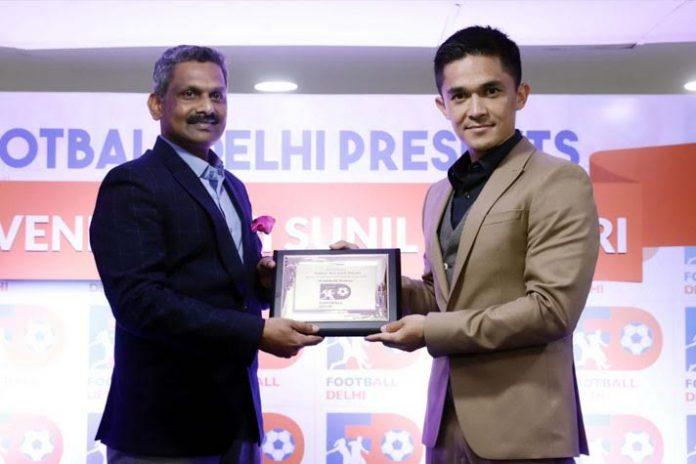 Sunil Chhetri,Football India,JLN Stadium,Football Ratna Award,Sports Awards
