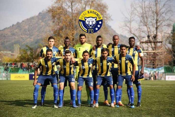 I-League,Real Kashmir FC,All India Football Federation,Minerva Punjab,Pulwama attack