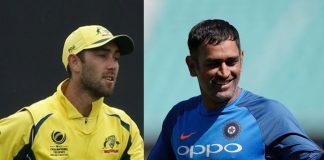 Mahendra Singh Dhoni,MS Dhoni,Glenn Maxwell,Yuzvendra Chahal,India Australia Series