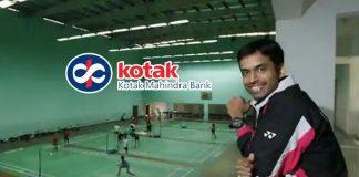 Kotak Mahindra Bank,Pullela Gopichand,Badminton Foundation,Gopichand Badminton Foundation,Gopichand Badminton Academy