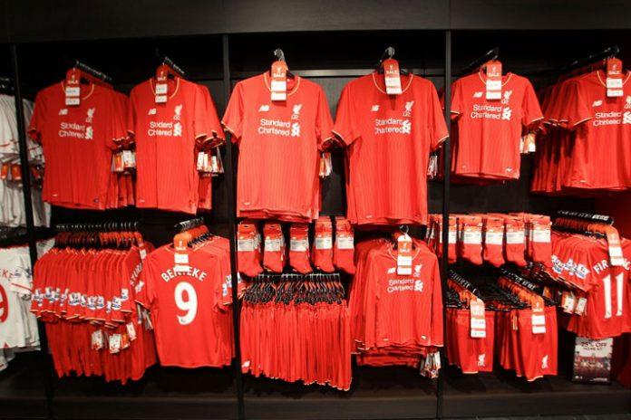 Liverpool,Liverpool Sponsorships,Liverpool Partnerships,Liverpool kit Partner,Liverpool Sponsors