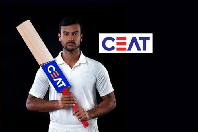 Mayank Agarwal,CEAT,Mayank Agarwal endorsement,CEAT Partnerships,Rohit Sharma