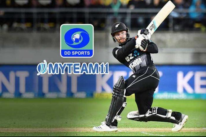 MyTeam11,IND vs NZ T20 Series,IND vs NZ T20,India New Zealand Broadcast Sponsor,MyTeam11 Sponsorships