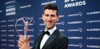 Novak Djokovic,Simone Biles,Tiger Woods,Kylian Mbappe,Laureus World Sports Awards 2019