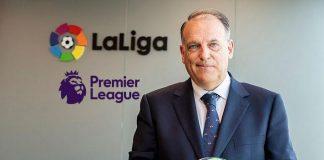 La Liga,Premier League,Premier League CEO,Javier Tebas,Susanna Dinnage