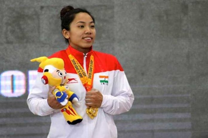 Mirabai Chanu,Indian weightlifter,EGAT Cup,EGAT Cup Thailand,EGAT Cup Gold Medallist