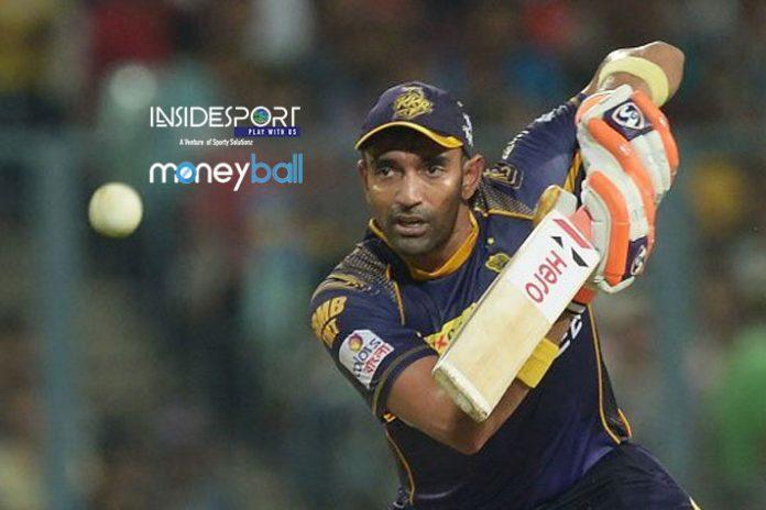 IPL Moneyball,IPL Salary,IPL Player Salary,Robin Uthappa,Kolkata Knight Riders