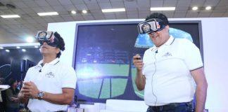 Sachin Tendulkar,VR cricket game,JetSynthesys VR cricket game,cricket game,Sachin Saga VR Multiplayer Game