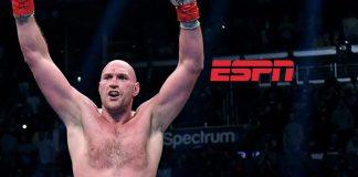 Tyson Fury,ESPN deal,Tyson Fury Boxing,Tyson Fury TV Deal,ESPN Live