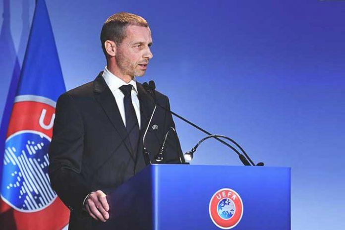 UEFA,UEFA President,Aleksander Čeferin,European football,UEFA League
