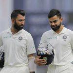 Kohli maintains top spot in ICC Test batsmen chart, Pujara in third spot