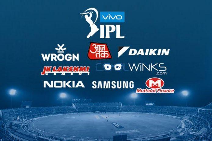 IPL teams sponsorship,IPL sponsorship,IPL 2019 Sponsors,IPL 2019,Indian Premier League