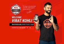 Mobile Premier League,MPL,eSports,Virat Kohli,Virat Kohli Brands