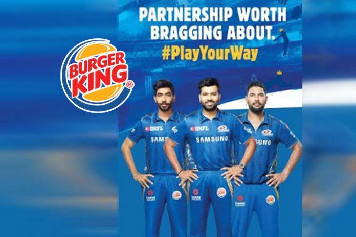 IPL 2019,Burger King,Burger King India,Mumbai Indians,Mumbai Indians Partnerships