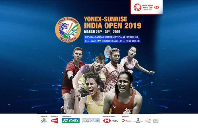 All England Open champions,Chen Yufei,Shi Yuqi,Yonex Sunrise India Open,Indira Gandhi International Stadium