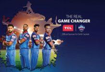 Delhi Capitals,IPL 2019,TCL Electronics,Indian Premier League,IPL 2019 Partnerships
