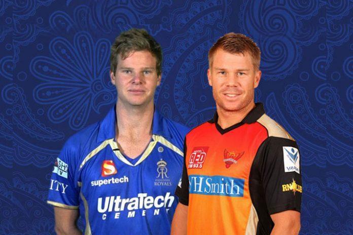 IPL 2019,Steve Smith,David Warner,Sunrisers Hyderabad,Rajasthan Royals