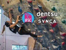 International Federation of Sport Climbing,Sport Climbing Federation,IFSC,Dentsu,Synca Creations