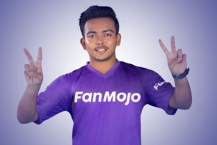 FanMojo signs Prithvi Shaw to promote company's Fantasy League