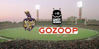 Kolkata Knight Riders,Gozoop,KKR Partnerships,KKR Sponsorships,KKR