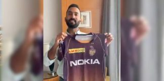 IPL 2019,Indian Premier League,KKR Jersey,Kolkata Knight Riders,Dinesh Karthik