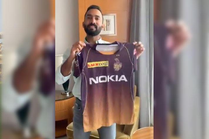 IPL Knight Riders 2019 Jersey T20 Cricket India KKR 2019