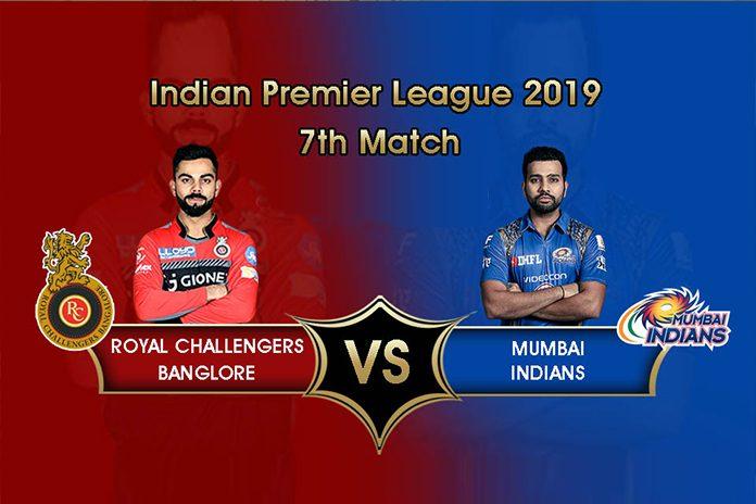 IPL 2019,IPL 2019 Live,RCB vs MI Live,Royal Challengers Bangalore vs Mumbai Indians Live,Watch RCB vs MI Live
