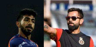 IPL 2019,IPL 2019 Live,RCB vs MI Live,Jasprit Bumrah,Virat Kohli