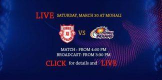 IPL 2019,IPL 2019 Live,KXIP vs MI Live,Kings XI Punjab vs Mumbai Indians Live,Watch KXIP vs MI Live