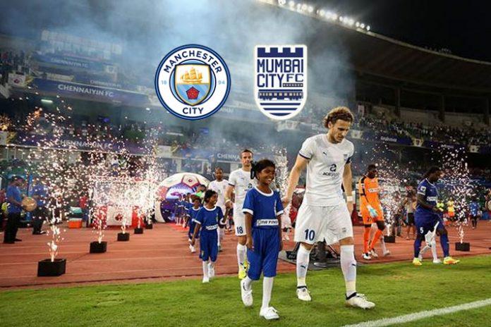 Mumbai City FC,Indian Super League,Manchester City,Manchester City Investments,Mumbai City FC Sponsorships