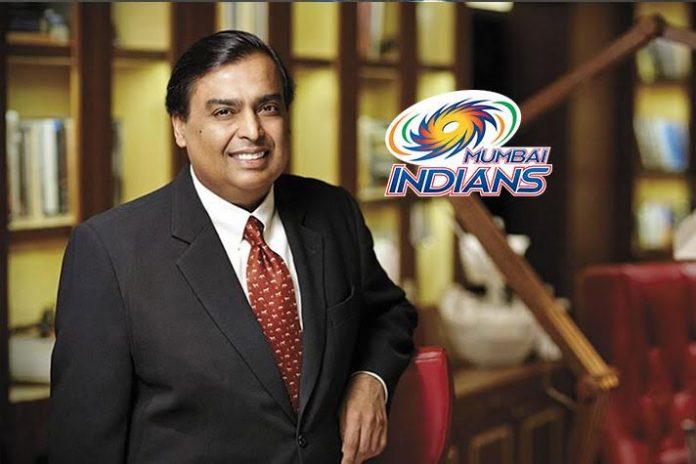 Mukesh Ambani,Indian Premier League,Mumbai Indians,Richest sports team owner,World richest sports team owner