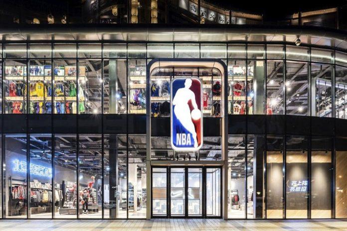 NBA Store,National Basketball Association,NBA Store in Beijing,NBA Stores,NBA Store in North America