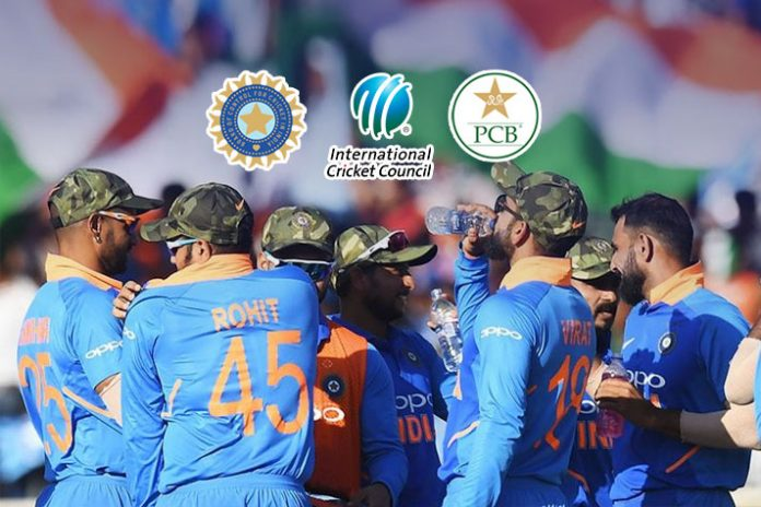 PCB writes to ICC, calls for action against India for wearing military caps