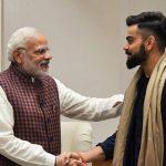 Narendra Modi,Lok Sabha Elections,General elections,MS Dhoni,Virat Kohli