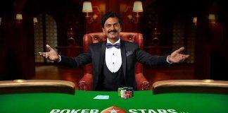 PokerStars,PokerStars India,Nawazuddin Siddiqui,PokerStars brand ambassador,PokerStars TVC
