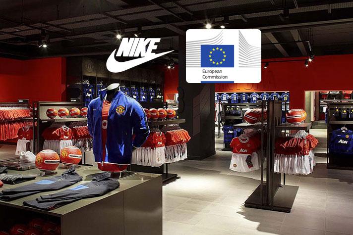 4fc6620695723 EC fines Nike  14 million in football merchandise case - InsideSport