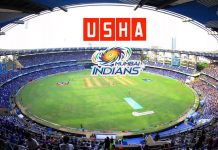 Usha International,Mumbai Indians,Mumbai Indians Sponsorships,Mumbai Indians Partnerships,Usha Partnerships