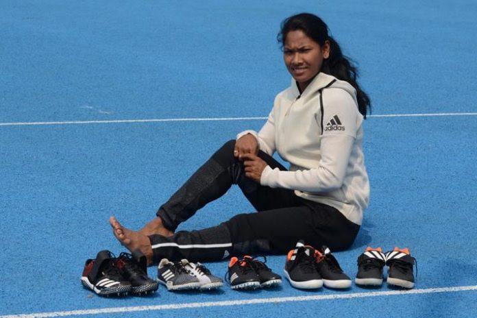 adidas,Swapna Burman,Swapna Burman Adidas shoe,Asian Games,Asian Games 2018